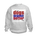 Patriotic Website Graphic Kids Sweatshirt