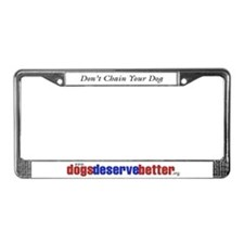 Patriotic Website Graphic License Plate Frame