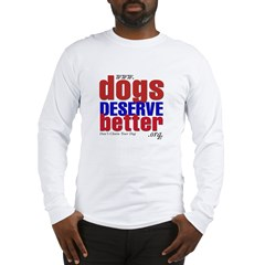 Patriotic Website Graphic Long Sleeve T-Shirt