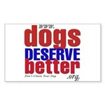 Patriotic Website Graphic Rectangle Sticker