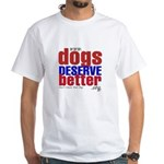 Patriotic Website Graphic White T-Shirt