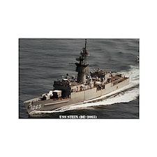 USS STEIN Rectangle Magnet
