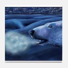 Winter Breath Tile Coaster