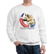 German Shepherd Sketch Sweatshirt