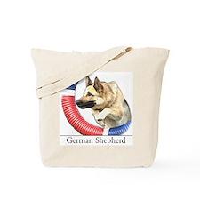 German Shepherd Sketch Tote Bag