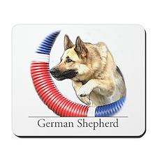 German Shepherd Sketch Mousepad