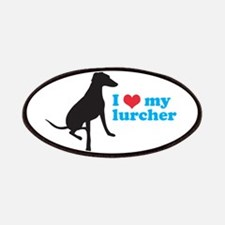 I Love My Lurcher Patches