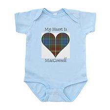 Heart - MacConnell Infant Bodysuit