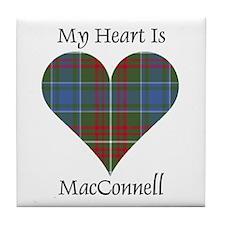 Heart - MacConnell Tile Coaster