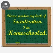 Funny Homeschooling Puzzle