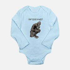 I DON'T BELIEVE IN MYSELF Long Sleeve Infant Bodys