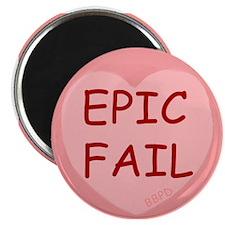 Epic Fail Sourheart Magnet