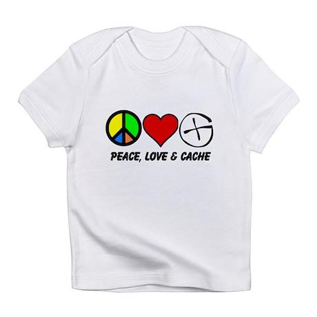 Peace, Love & Cache Infant T-Shirt
