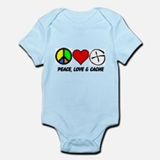 Peace, Love & Cache Infant Bodysuit