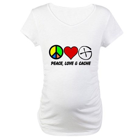 Peace, Love & Cache Maternity T-Shirt