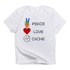 Peace Love Cache Infant T-Shirt