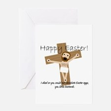 Happy Easter Jesus! Greeting Card