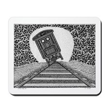 Tipping Train #2 Mousepad