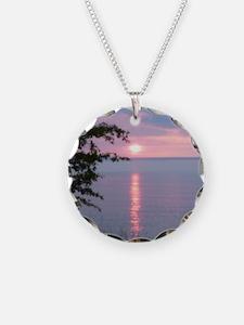 Sunset Lake Superior Necklace