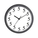 Five o clock clock Basic Clocks