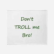 Cute Troll hunter Throw Blanket