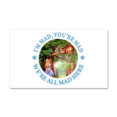 I'm Mad, You're Mad Car Magnet 20 x 12