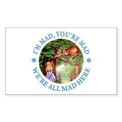 I'm Mad, You're Mad Sticker (Rectangle 50 pk)
