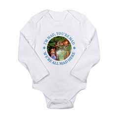 I'm Mad, You're Mad Long Sleeve Infant Bodysuit