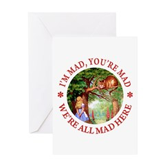 I'm Mad, You're Mad Greeting Card