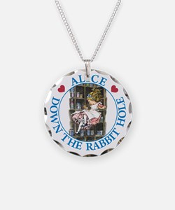 Alice Down the Rabbit Hole Necklace