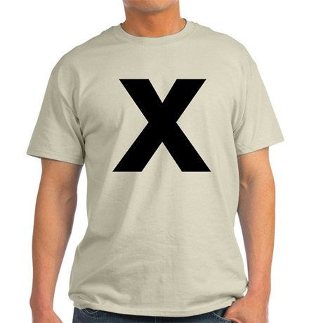 Letter X Light T-Shirt