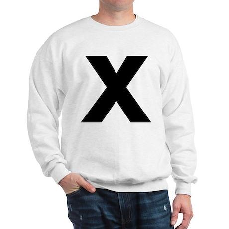 Letter X Sweatshirt