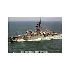 USS THOMAS C. HART Rectangle Magnet