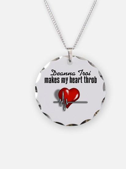 Deanna Troi makes my heart throb Necklace