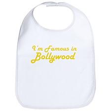 I'm Famous in Bollywood Bib