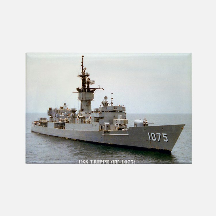USS TRIPPE Rectangle Magnet