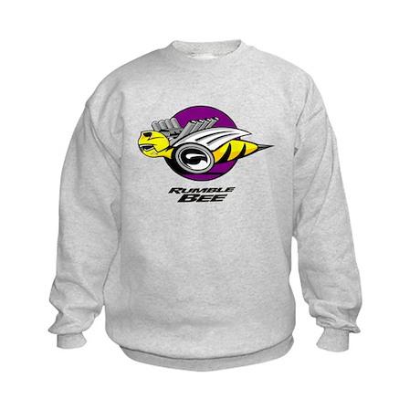 Rumble Bee design Kids Sweatshirt