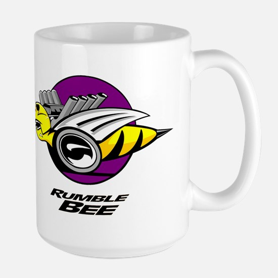 Rumble Bee design Large Mug
