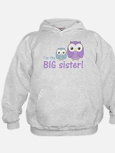 Big Sister Owl Purple/Blue Hoodie