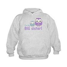Big Sister Owl Purple/Blue Hoody