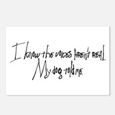 My Dog Told Me Postcards (Package of 8)