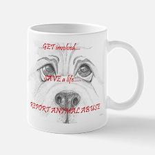 Cute Animal abuse Mug