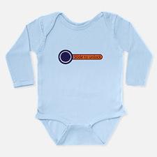 slide to unlock Long Sleeve Infant Bodysuit