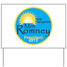Romney New Hampshire Yard Sign