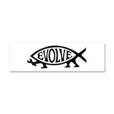 Evolve Fish Car Magnet 10 x 3