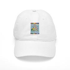 Food Guide Pyramid Baseball Cap