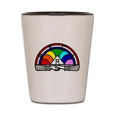 Order of the Rainbow Shot Glass