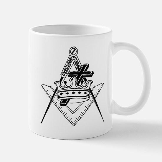 Knight Templar (black/white) Mug