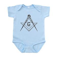 Master Mason (black/white) Infant Bodysuit