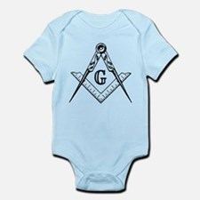 Master Mason (black/white) Infant Bodysuit